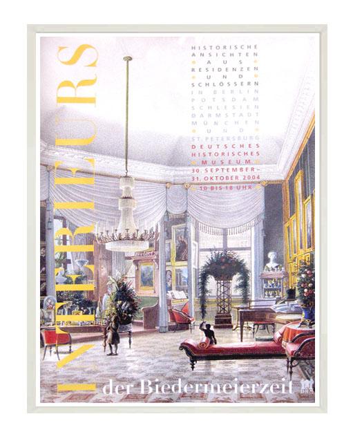 Poster print 'Interieurs der Biedermeierzeit''