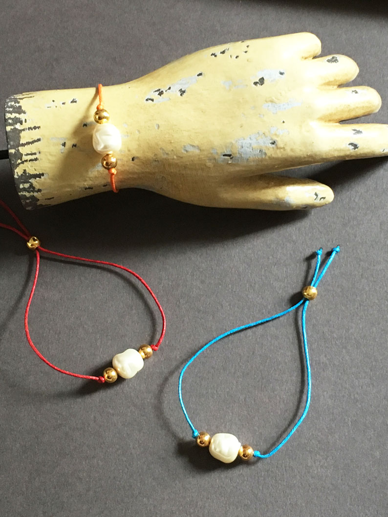 COrd bracelets with faux peal.jpg