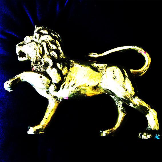 Copy of Antique brass lion