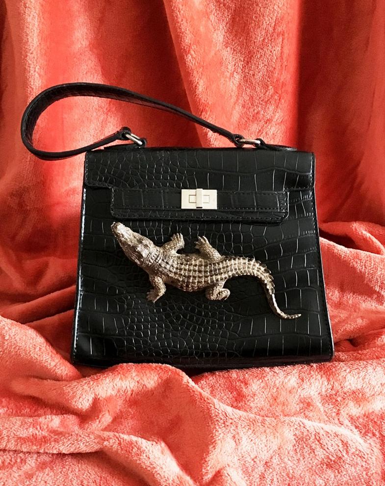 ladies kelly style bag with crocodile.jpg