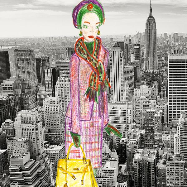 Lady Tartan in New York Fashion Week.jpg