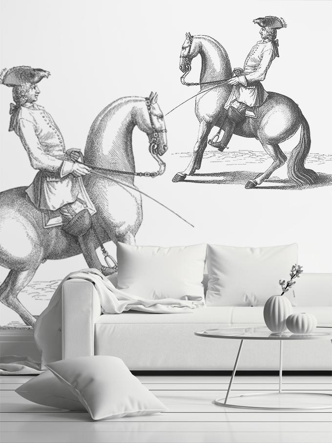 Estilismo grafico salon y aristocrata en caballo.jpg