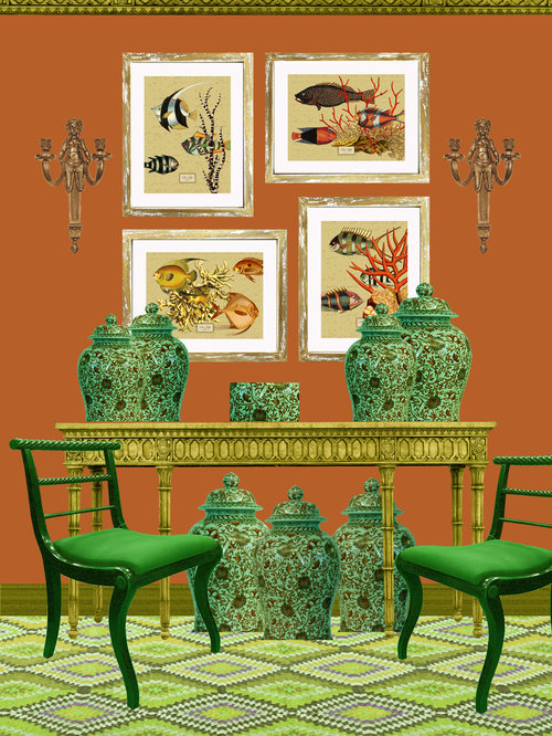 Classic+interior+space+with+set+of+fish+prints.jpg