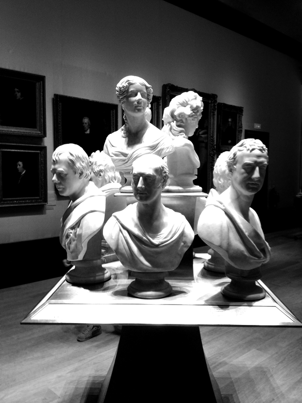 Copy of Busts at the National Portrait Gallery