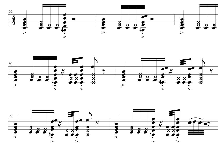 Sävellän silloin tallöin, mutta vielä useammin istun ja improvisoin kitaralla, maalaan äänitunnelmia. Etenkin muotoilutyön lomassa.