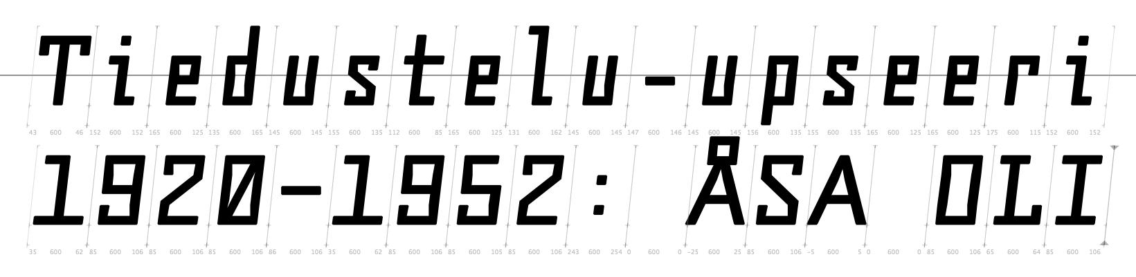 Tulovero Italic
