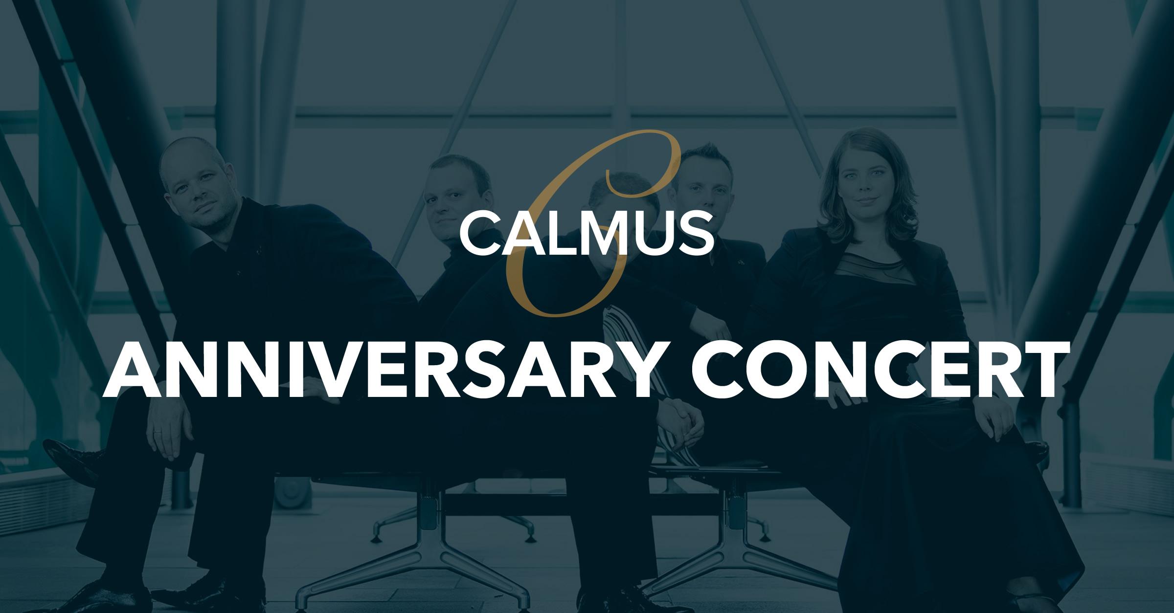 Calmus' 15th Anniversary Concert, Oct 4, 2014
