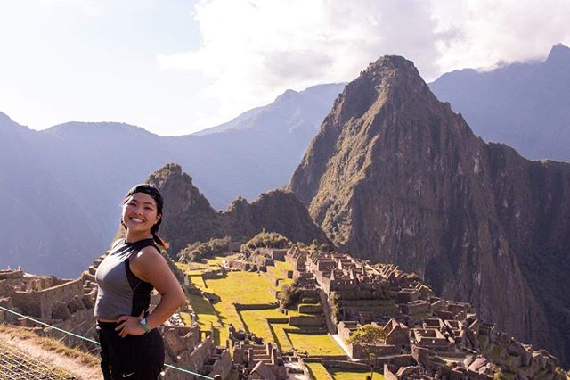 #WhereInTheWorldIsPUGC Siyang Liu '21 is super excited to be working in Peru this summer with the International Internship Program. Her project is socially focused: using human-centered consulting, she and her team are helping low-income individuals transition away from shopping in black markets by providing another option: affordable and dignified second-hand stores. That's good for society and for the environment.  Besides work, luckily she gets some time to travel— pictured here is her in front of Machu Picchu after six hours on the Inca Trail! #LiuInPeru