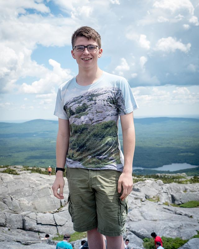 #WhereInTheWorldIsPUGC Theo Trevisan '21 (pictured here at Mount Monadnock) began his summer at The Walden School in Dublin, New Hampshire, participating in the Creative Musicians Retreat (and having a piece of his premiered by the Mivos Quartet!) and staffing the Young Musicians Program, helping young musicians develop their musical and creative skills. Theo will be spending the rest of the summer back in Princeton, doing programming for Professor Dan Trueman's bitKlavier app and Professor Jeff Snyder's Vocodec app. #computingandcomposing #round2