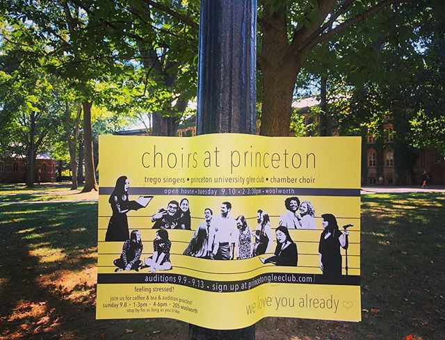 IT'S ALL HAPPENING! We are so excited to meet you, 2023. Sign up for your audition at princetongleeclub.com, and tag us in your audition poster selfies:) #weloveyoualready