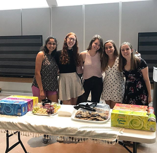 we're so excited to meet you at our open house today! come through to mcalpin hall in woolworth from 2-3:30. we've got good friends, good conversation, and good food (swipe for cookie)  THREE MORE DAYS of auditions! sign up for your slot now at https://princetonchoirs.as.me/2019auditions #weloveyoualready