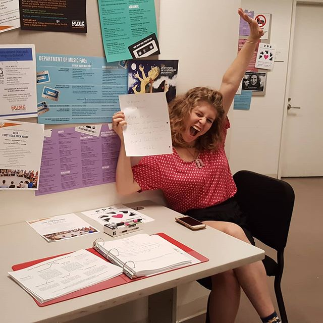 This is how excited we are about people auditioning for Glee!! Sign up for auditions at princetongleeclub.com!