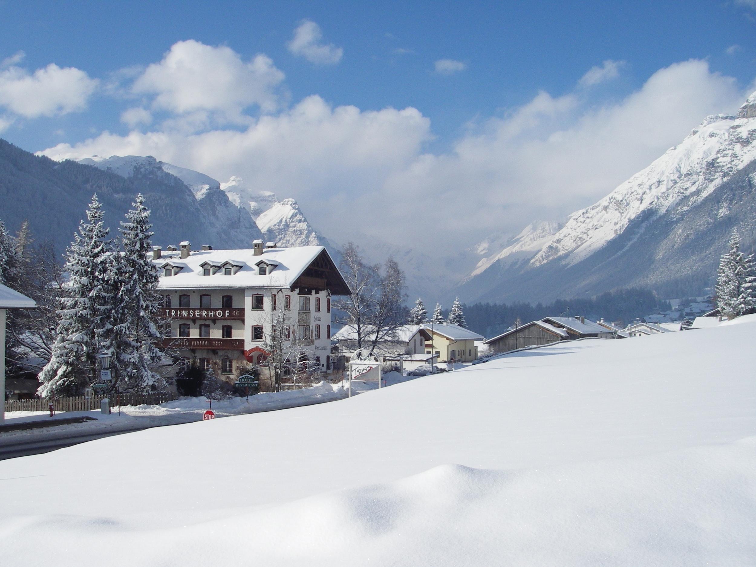 Trinserhof im Winter