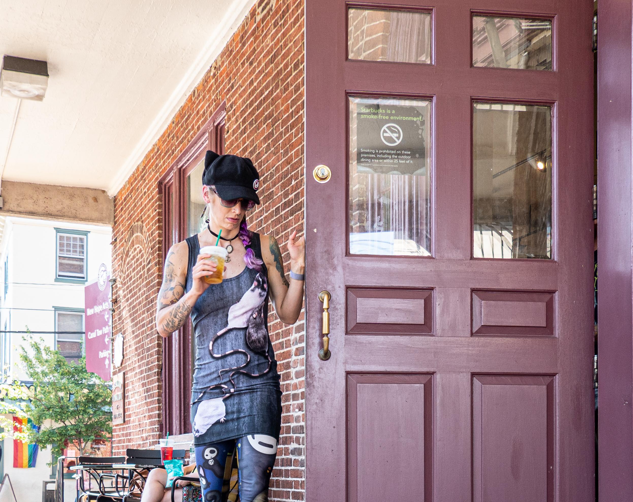 Rat Dress Woman