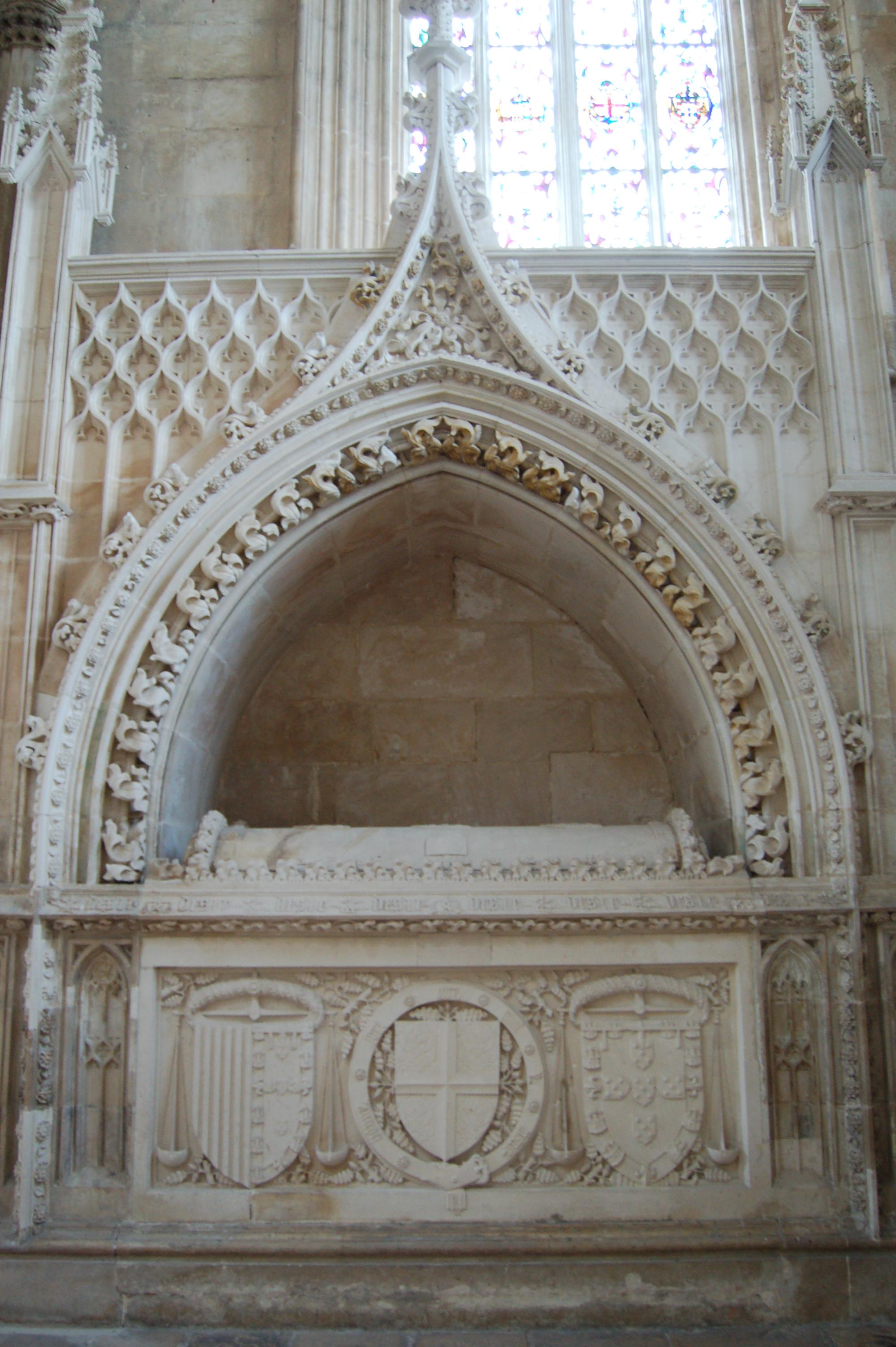 Túmulo do Infante D. Pedro.