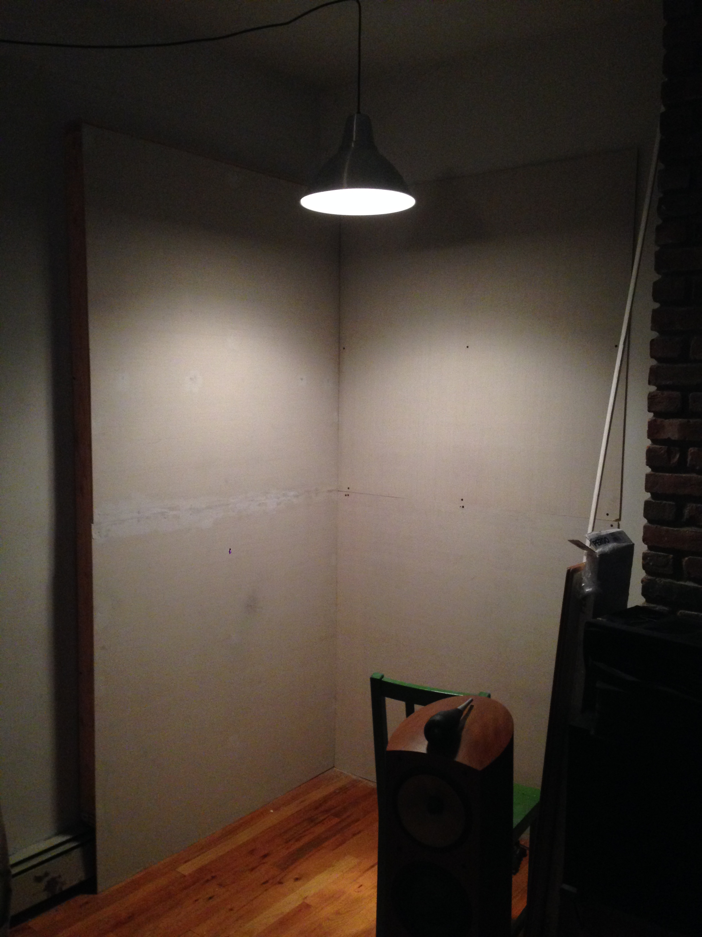 Walls in place