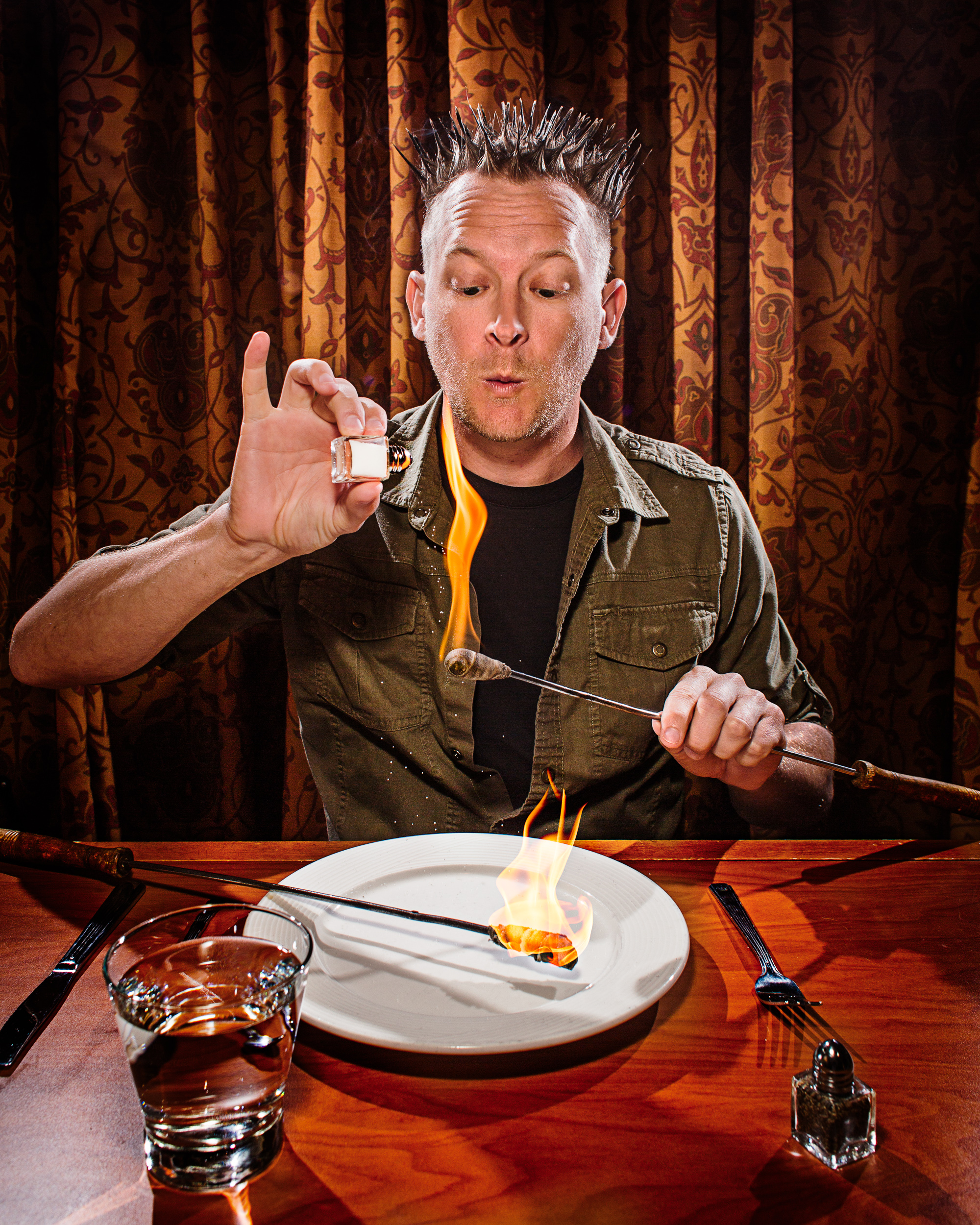 Brian Brushwood - Fire Eater