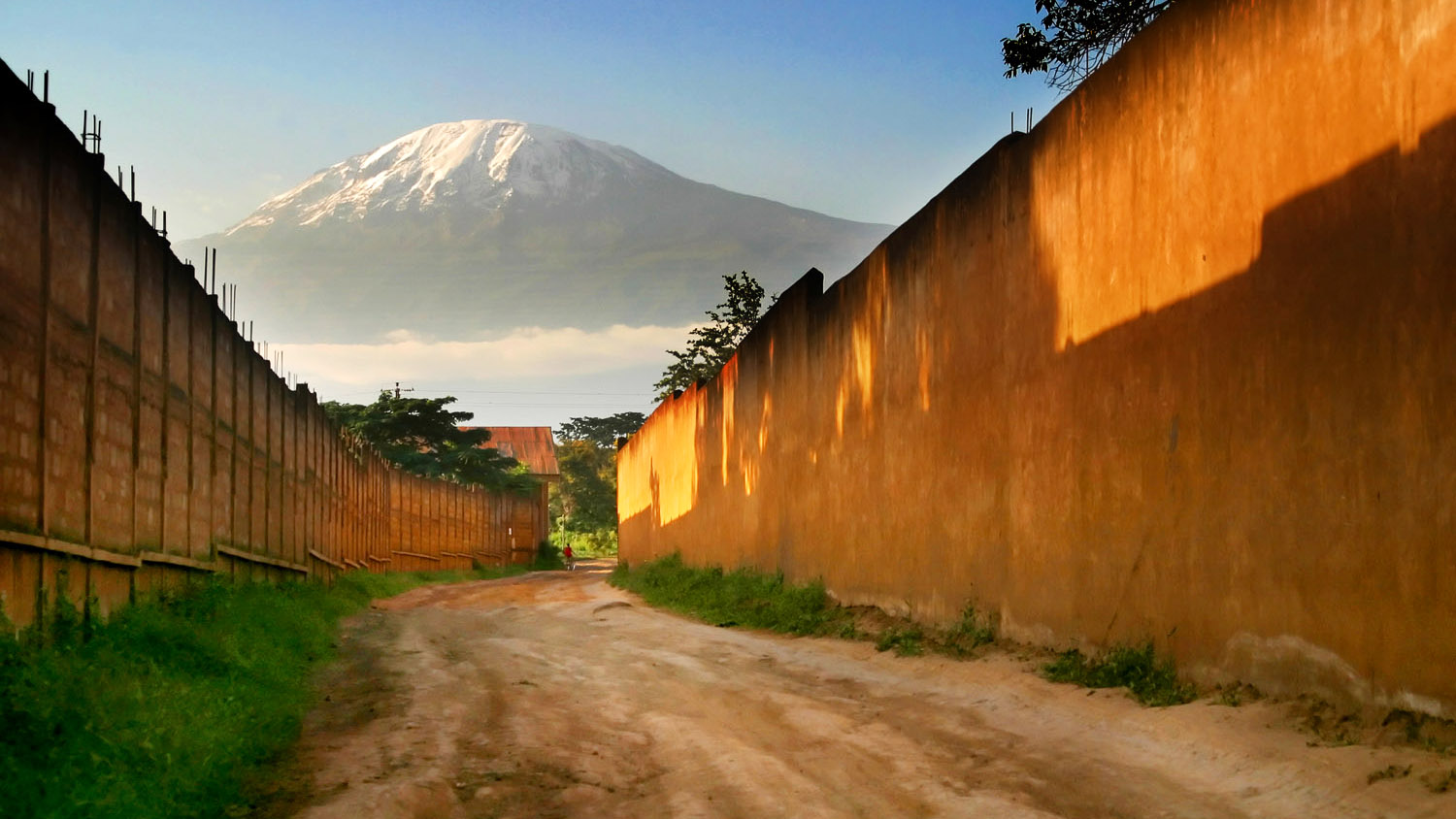My first trip out of the USA! Shot on Canon D60. Mount Kilimanjaro from Moshi, Tanzania, 2006