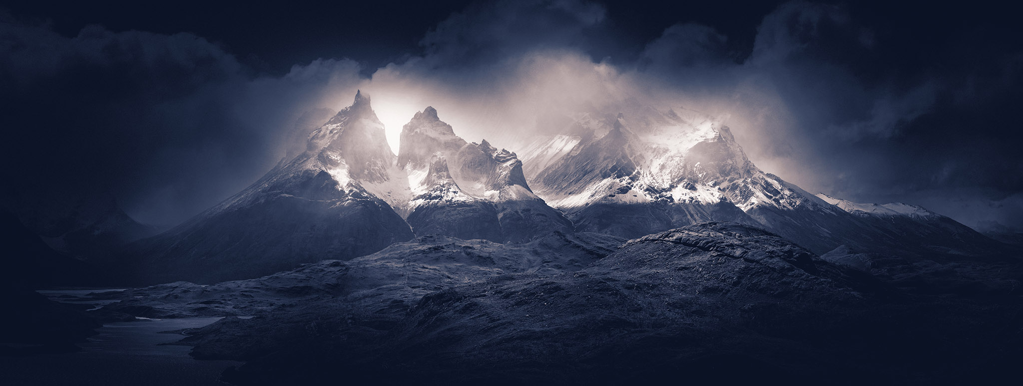 Torres del Paine. Pano shot on Hasselblad H6D-100c w/ 100mm.