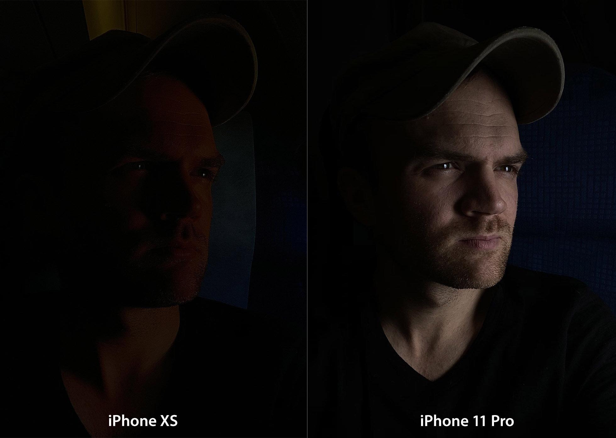 Testing iPhone 11 Pro's capability to preserve skin tones w/ underexposure.
