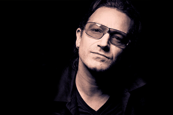 Bono - The genius of his music is the joy that's in it. I know that Brian believes in angels. I do too. But you only have to listen to the string arrangement on