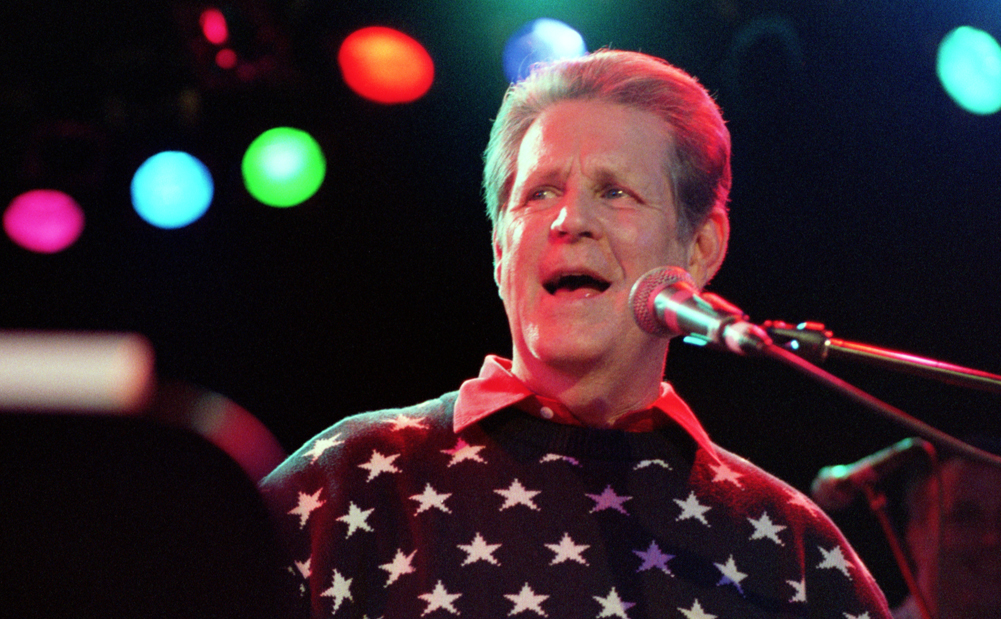 Christmas Solo.Brian Wilson Wants To Wish You A Merry Christmas Brian Wilson
