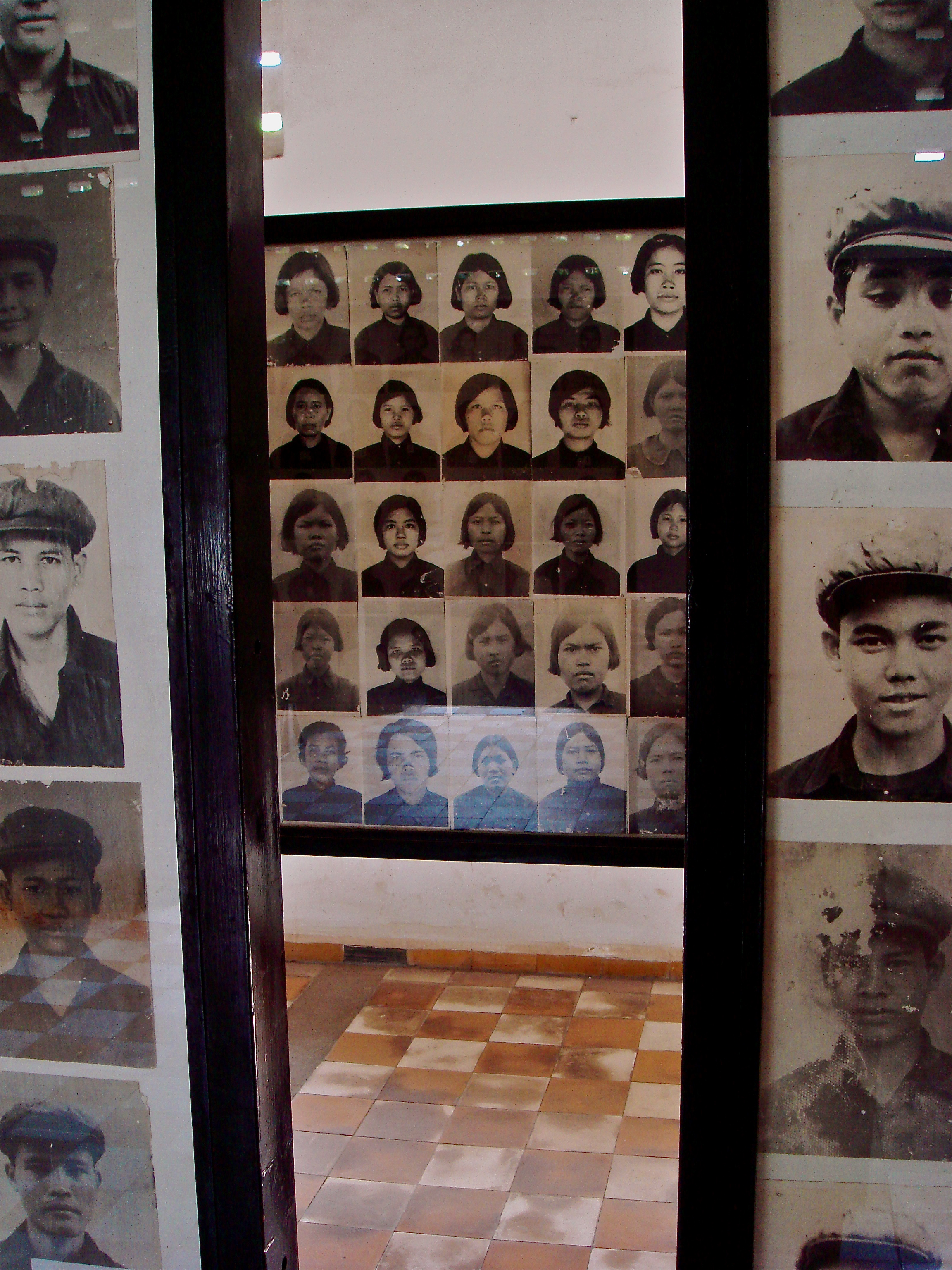 Photos of the Prisoners Who Passed Through Tul Sleng