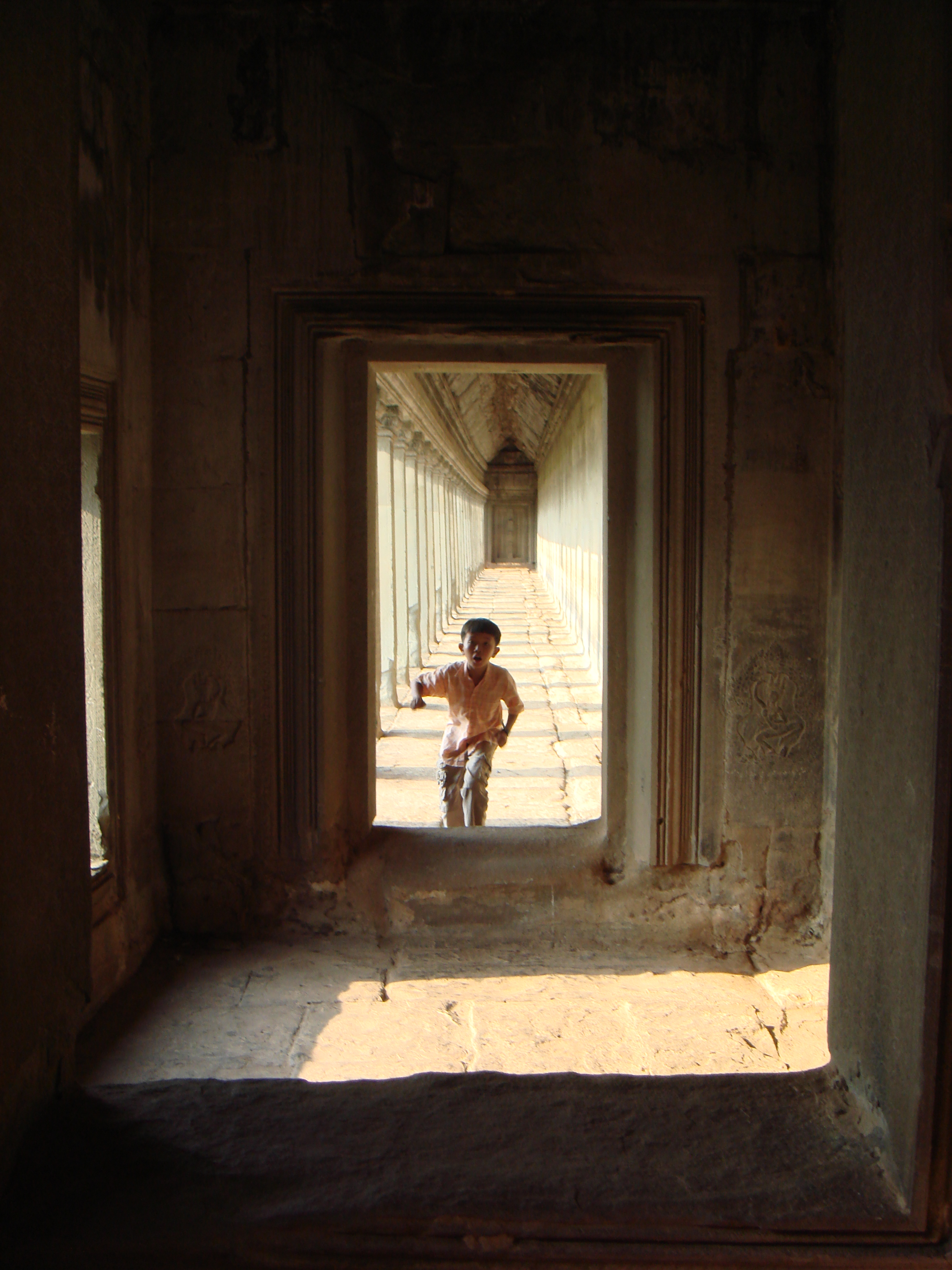 Wait For Me!           Angkor Wat, Siem Reap    Cambodia