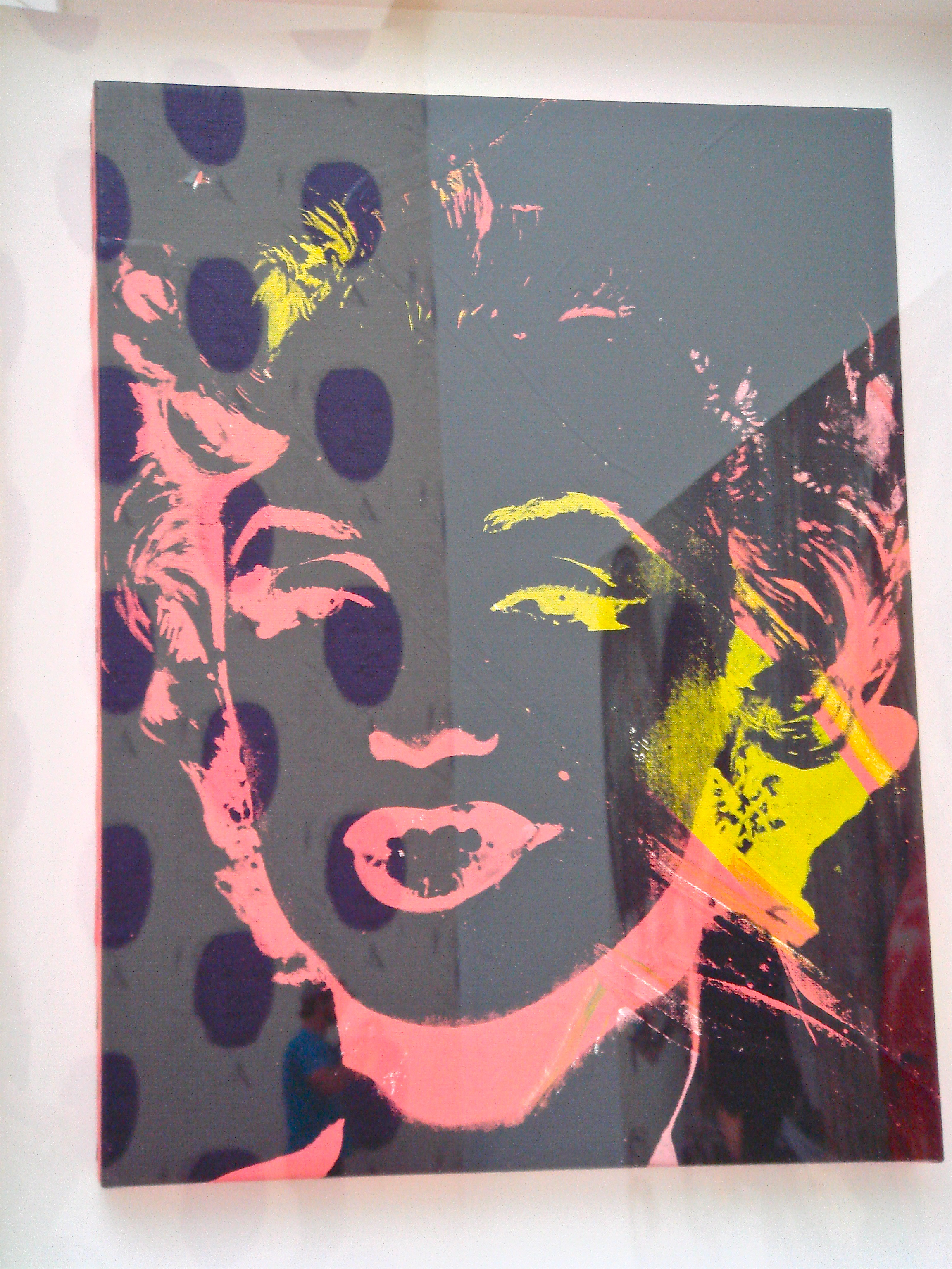 Marilyn Monroe, circa 1962             Andy Warhol   The artist only began to paint Monroe after her death and — staying true to the Pop Art philosophy — was only interested in portraying Marilyn THE STAR, not Marilyn the person.