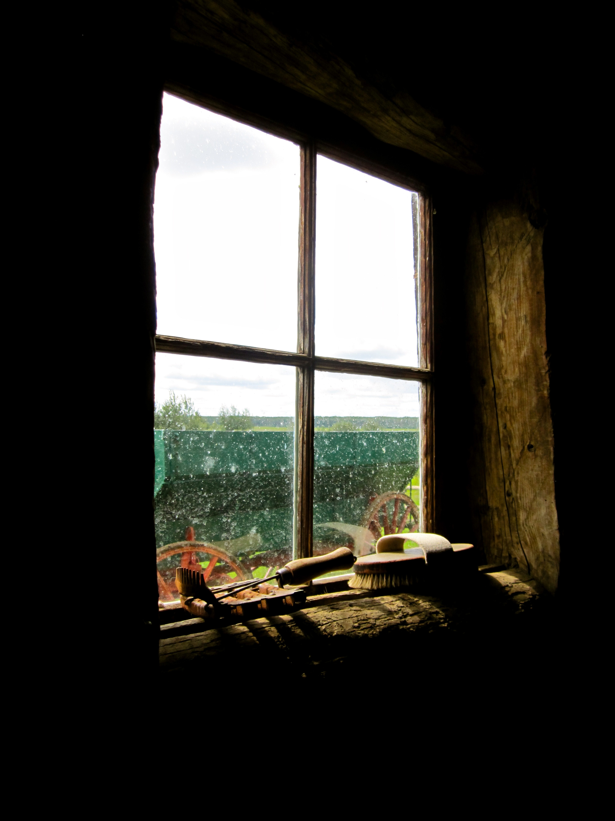 The Barn Window                    Alberta, Canada