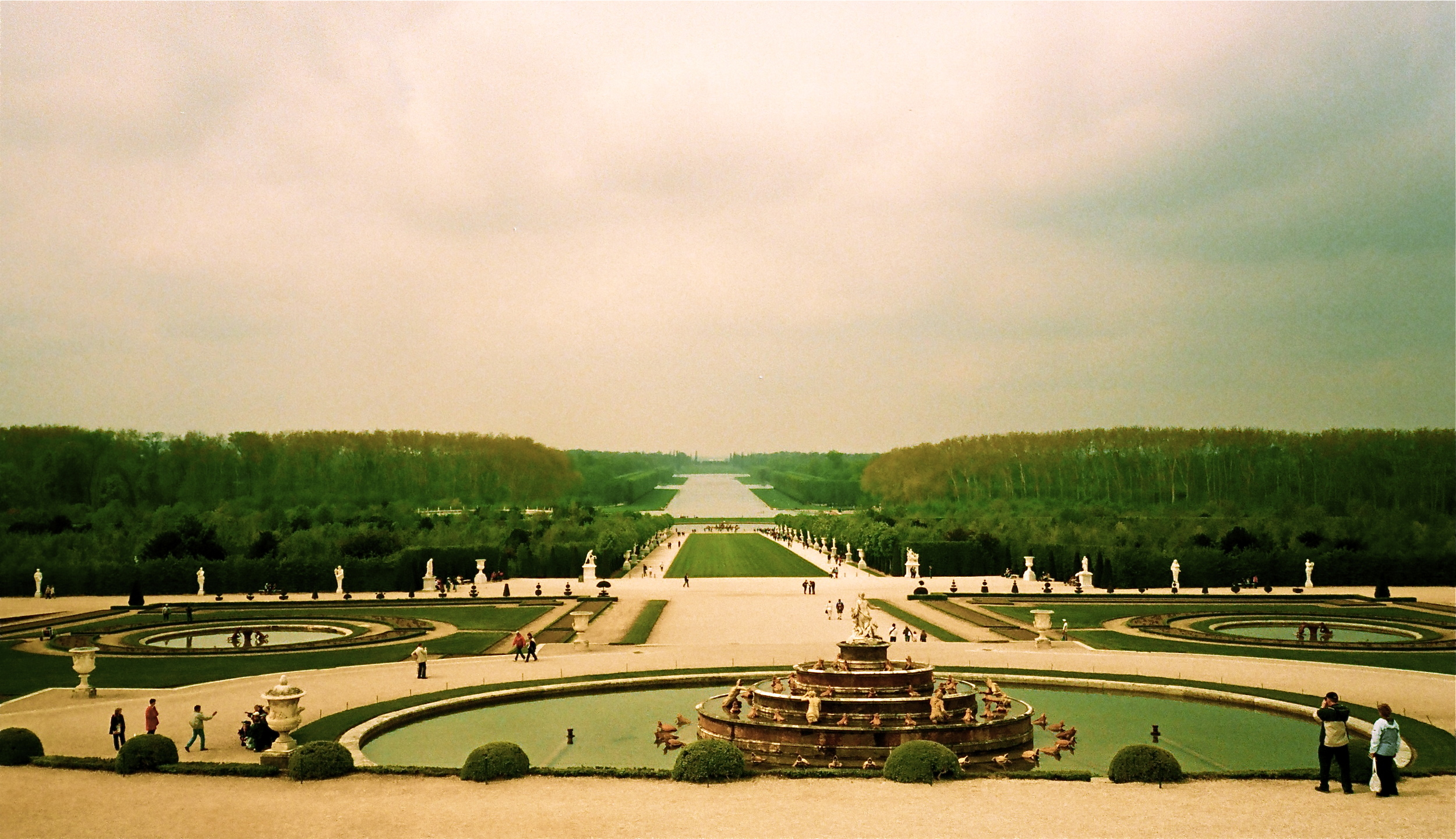 The Garden at Versailles