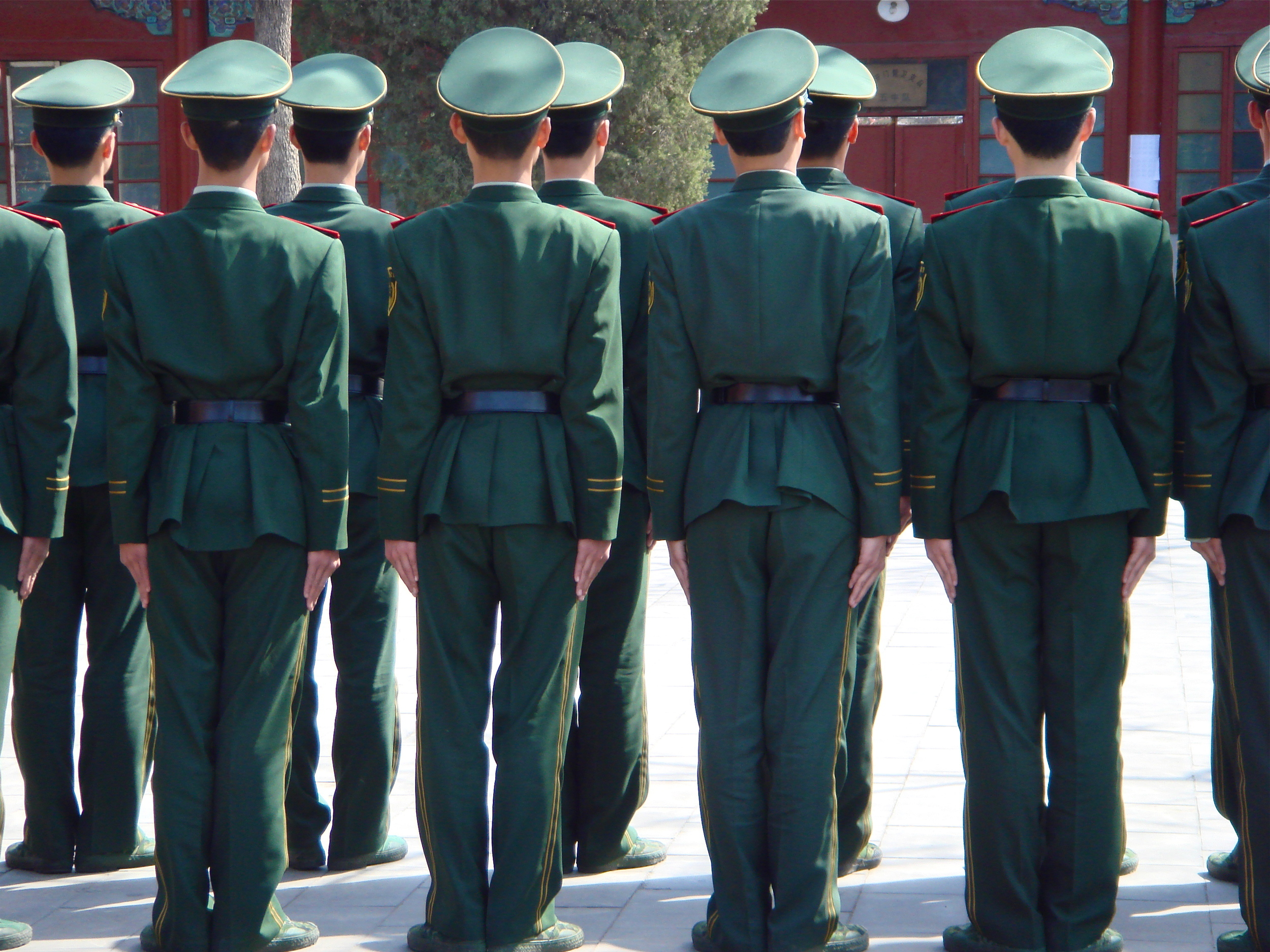 The Soldiers             Beijing, China