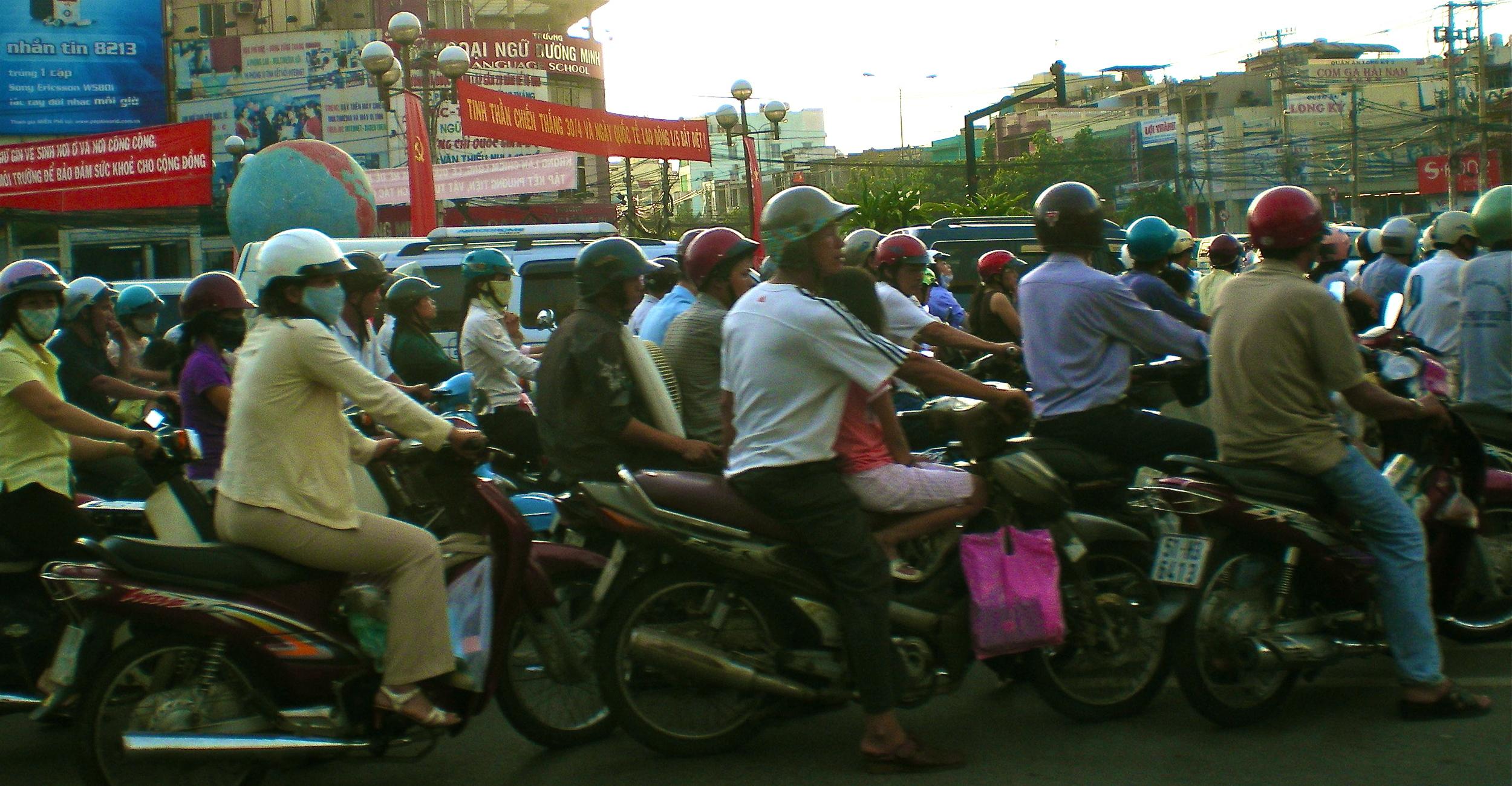 Rush Hour in Vietnam