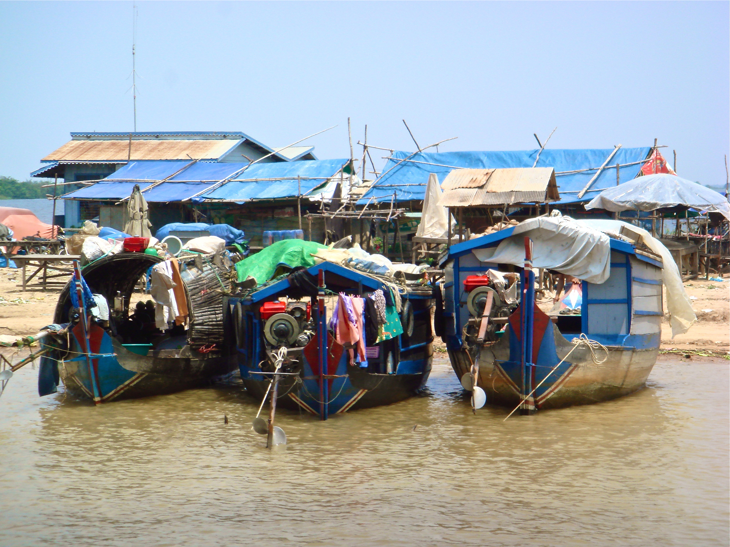 Living on the River         Siem Reap, Cambodia