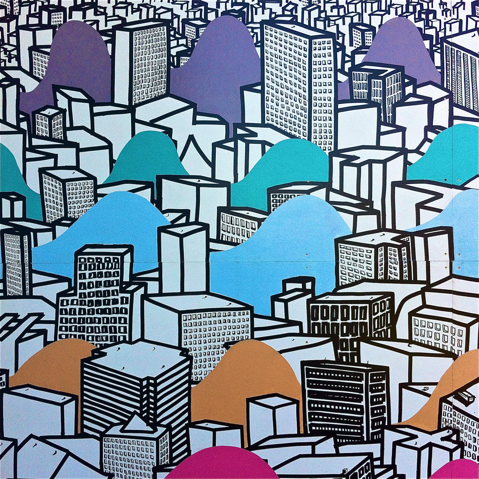 City on the Wall            Edmonton, Alberta