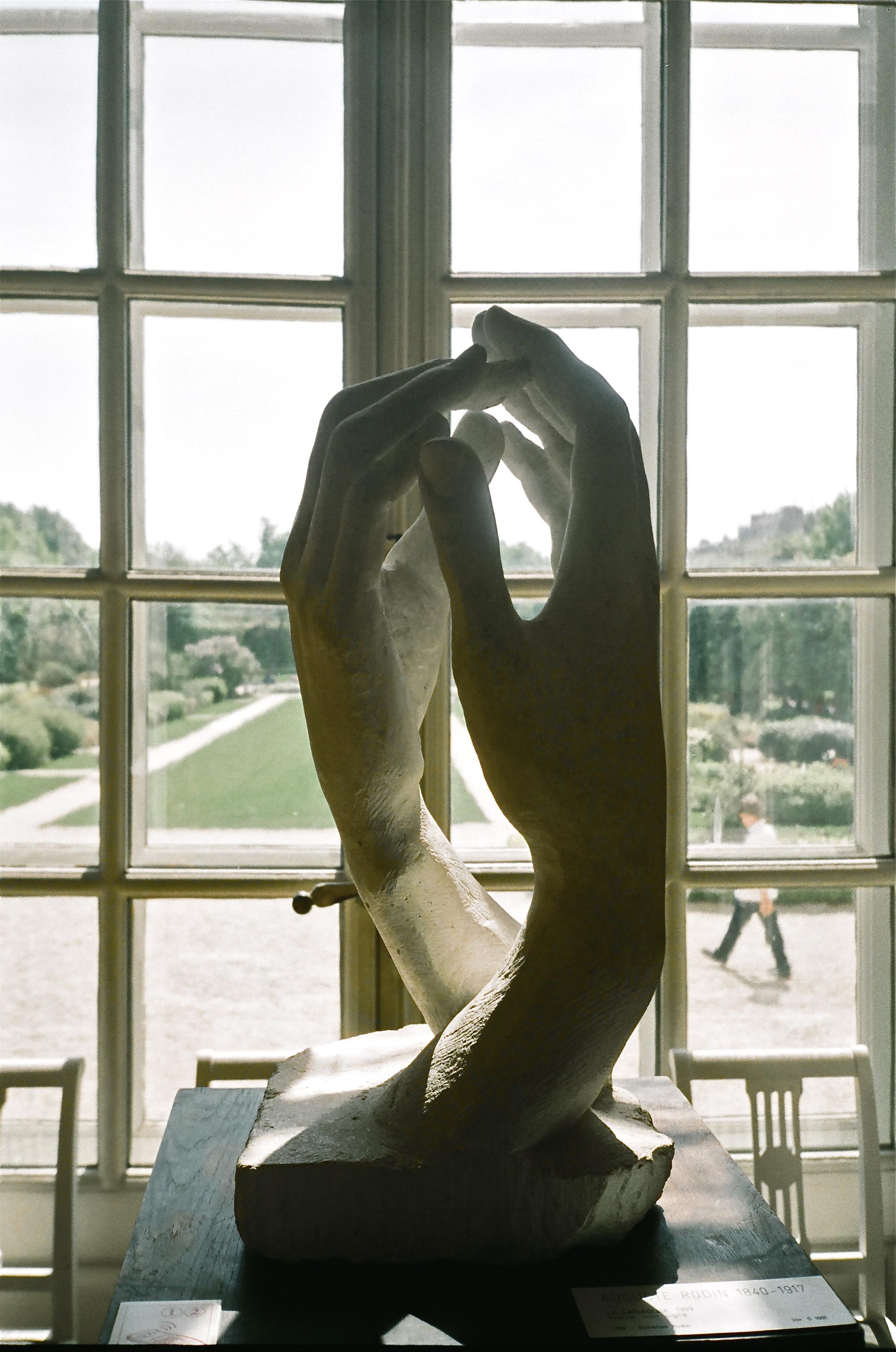 Auguste Rodin       Paris, France (Photo taken on 35mm film)