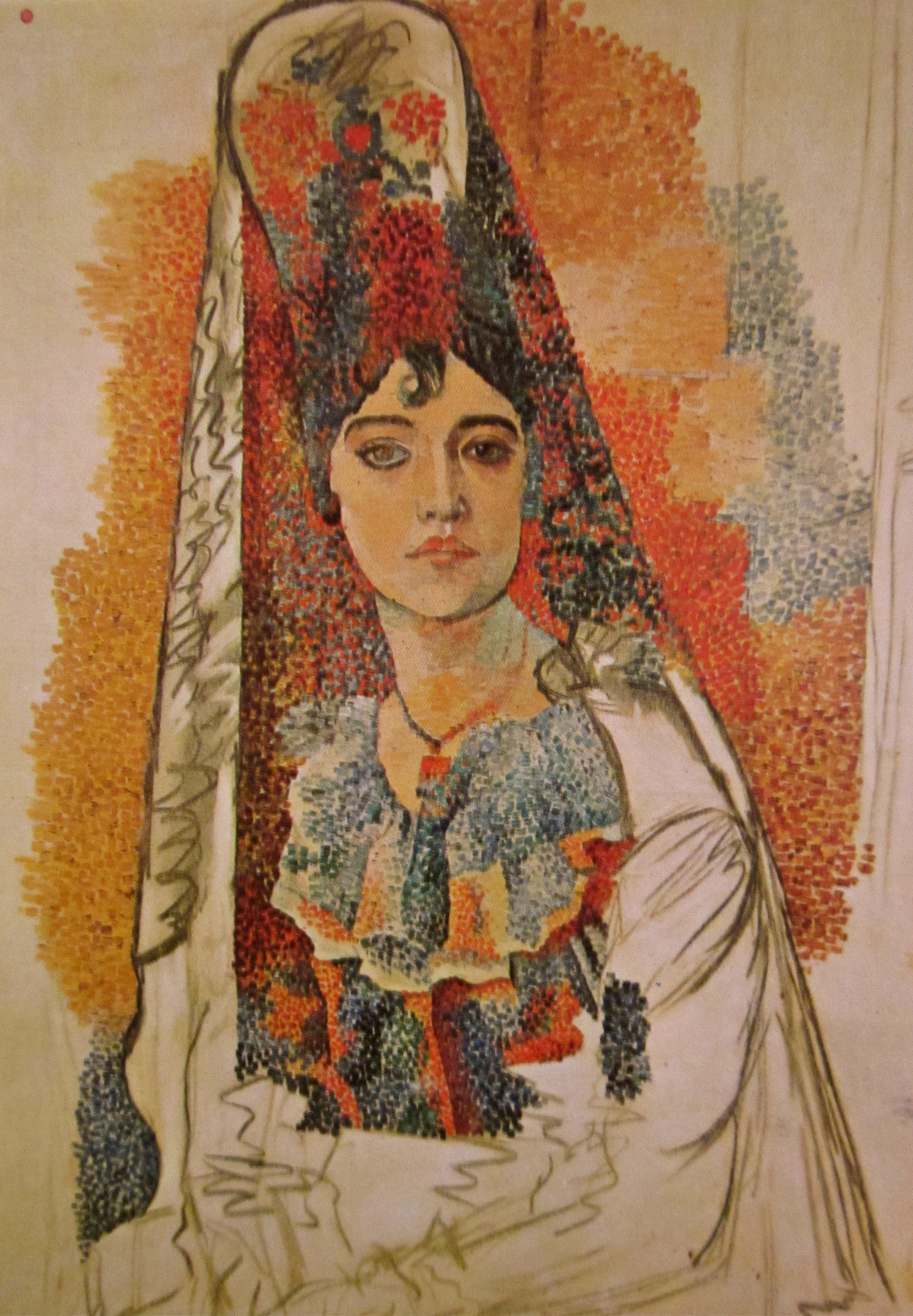 La Salchichona 1917 — Picasso       Museu Picasso, Barcelona, Spain