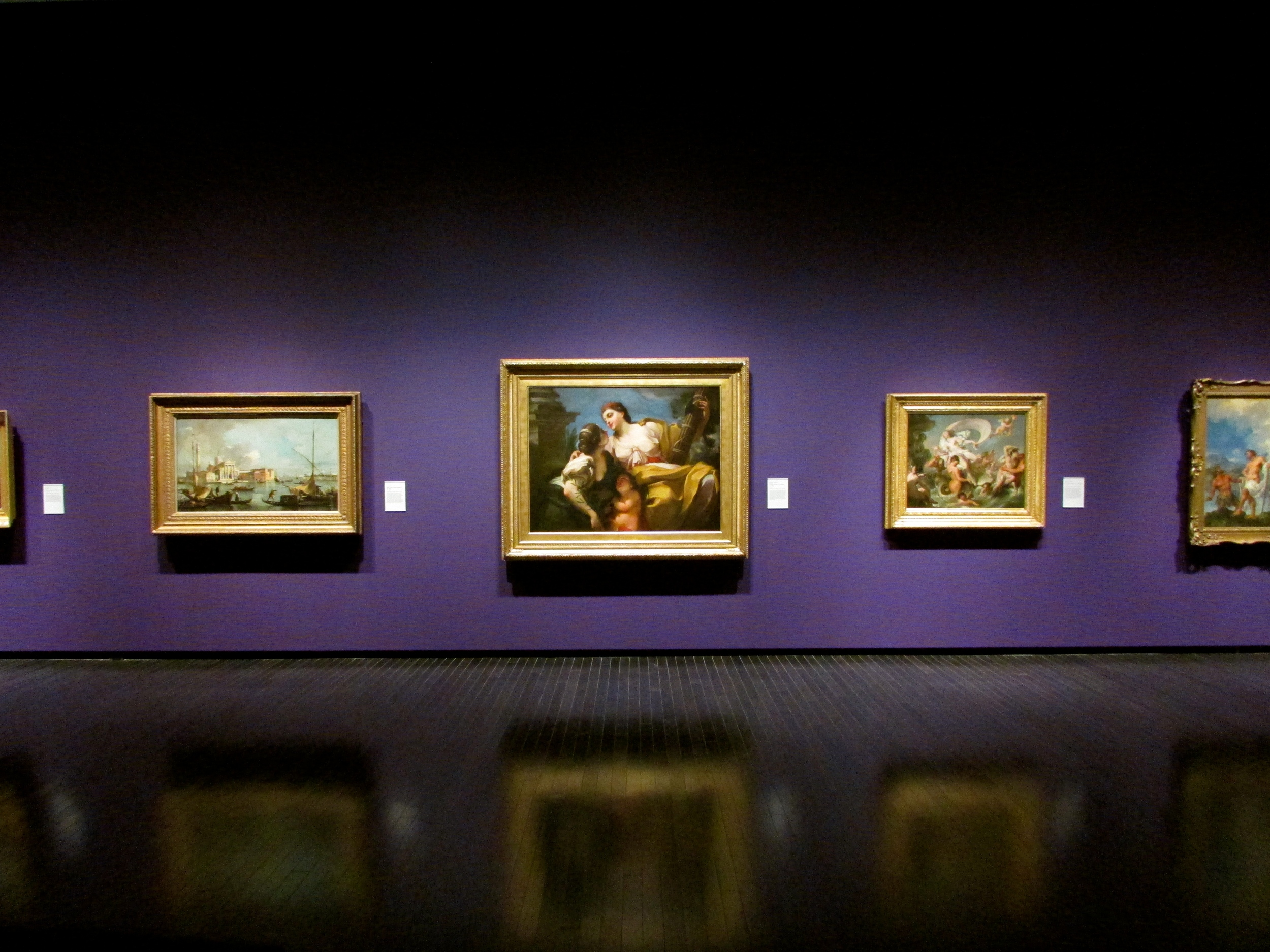 Italian paintings from the Glasgow Museum on display at the Art Gallery of Alberta