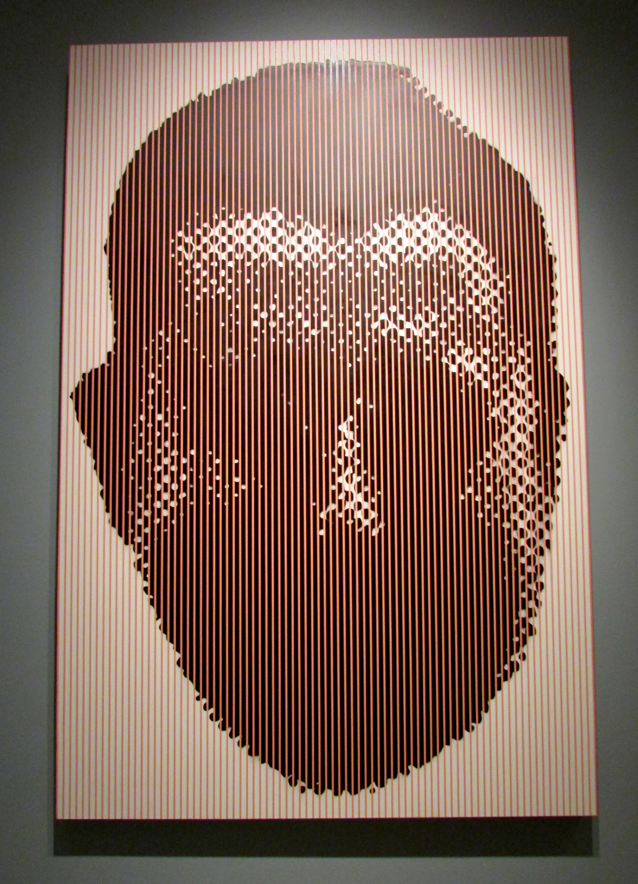 Large Pink Head #2 , 1991    Chris Cran
