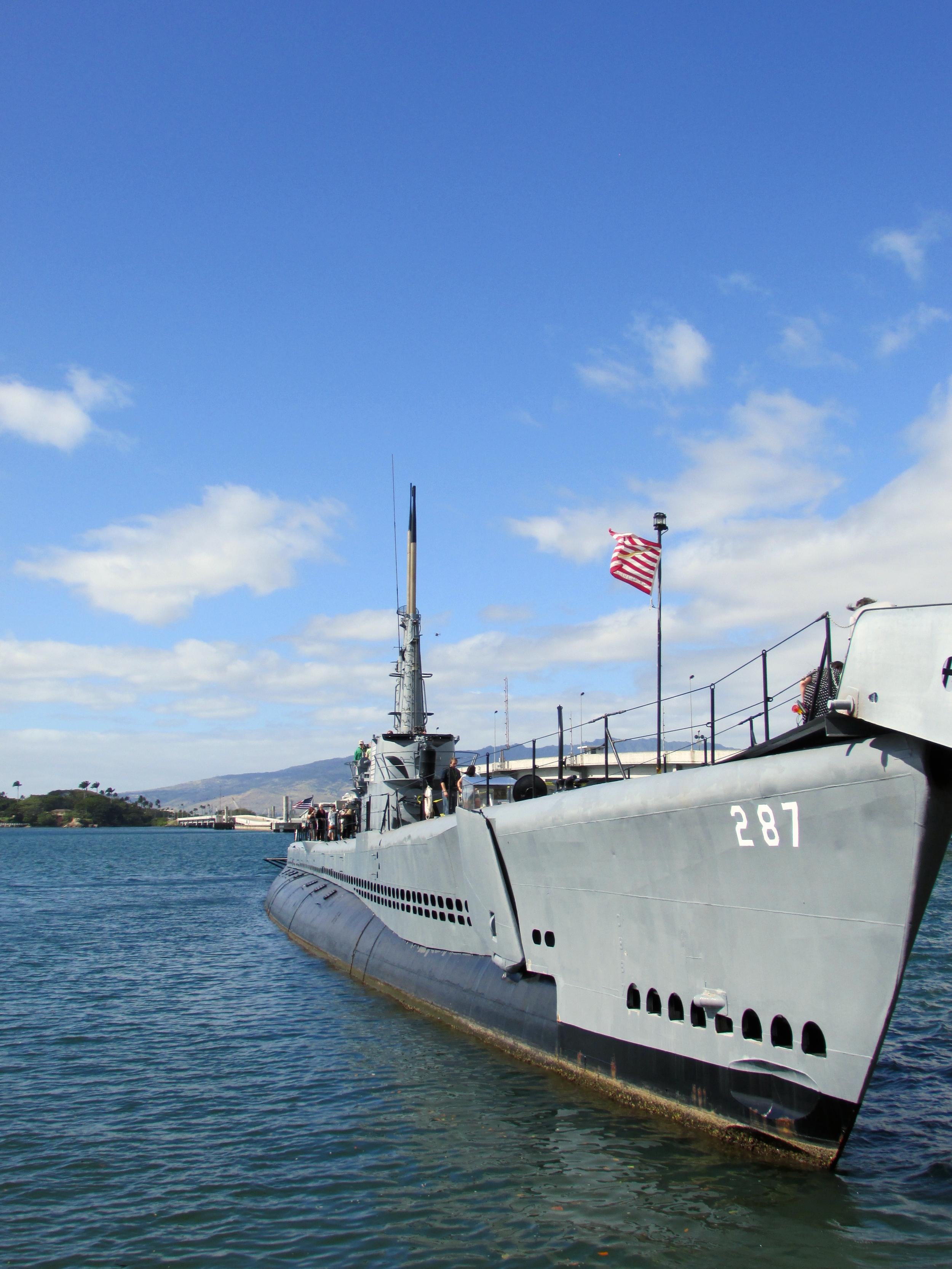 WWII Submarine Pearl Harbor, Hawaii