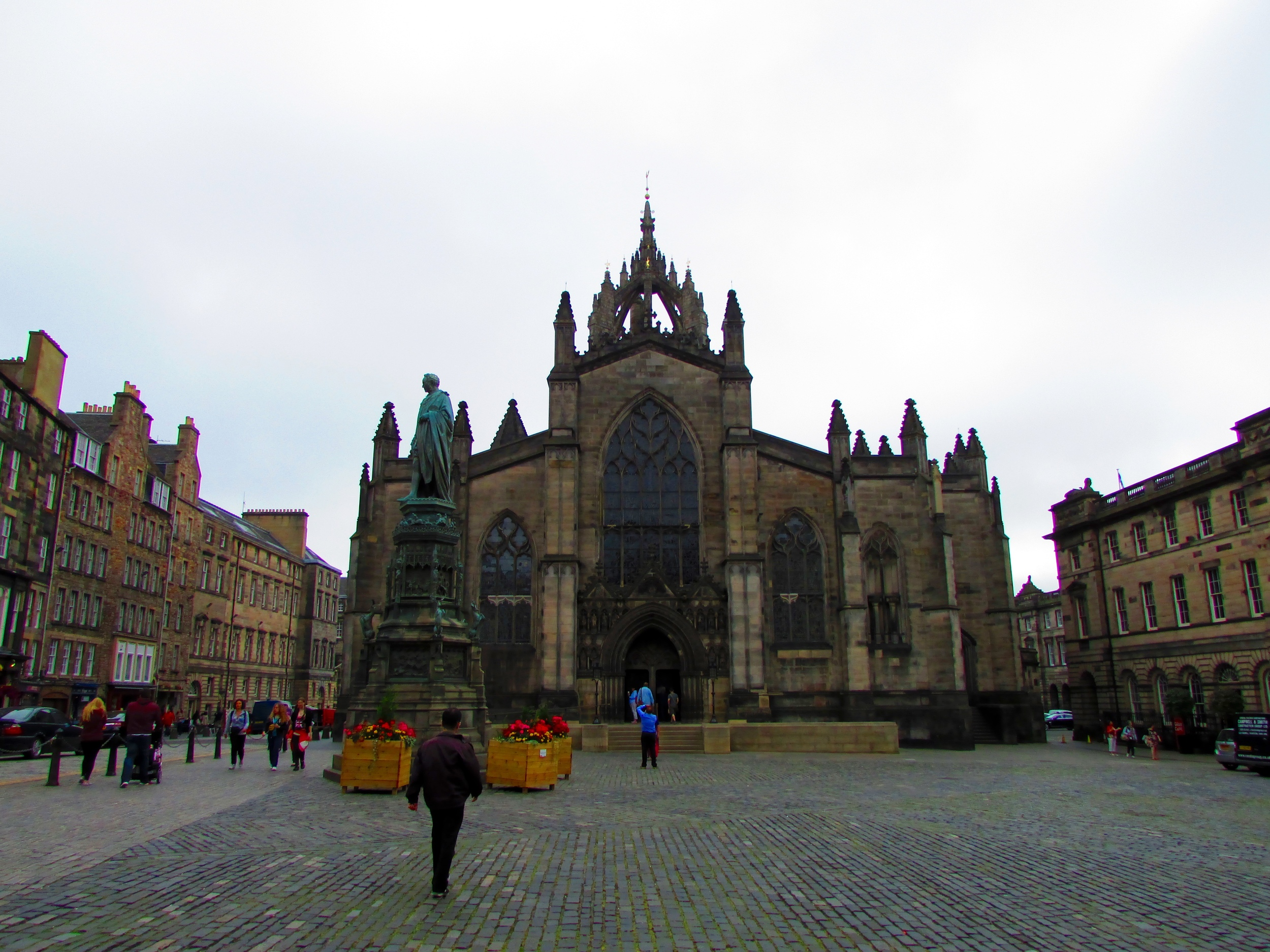 The square in front of St. Giles Cathedral was once where executions were carried out