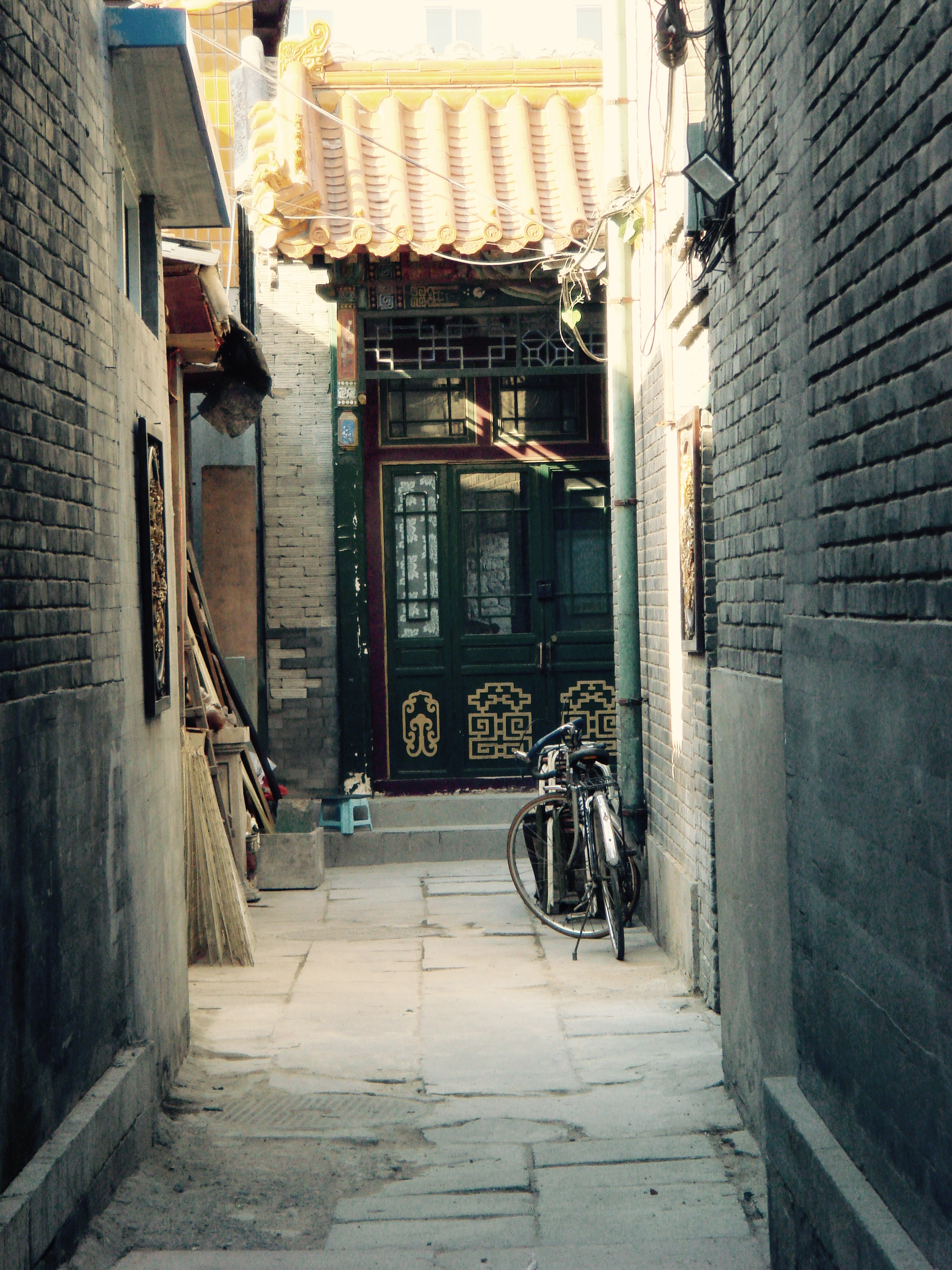 An alleyway in Beijing, China