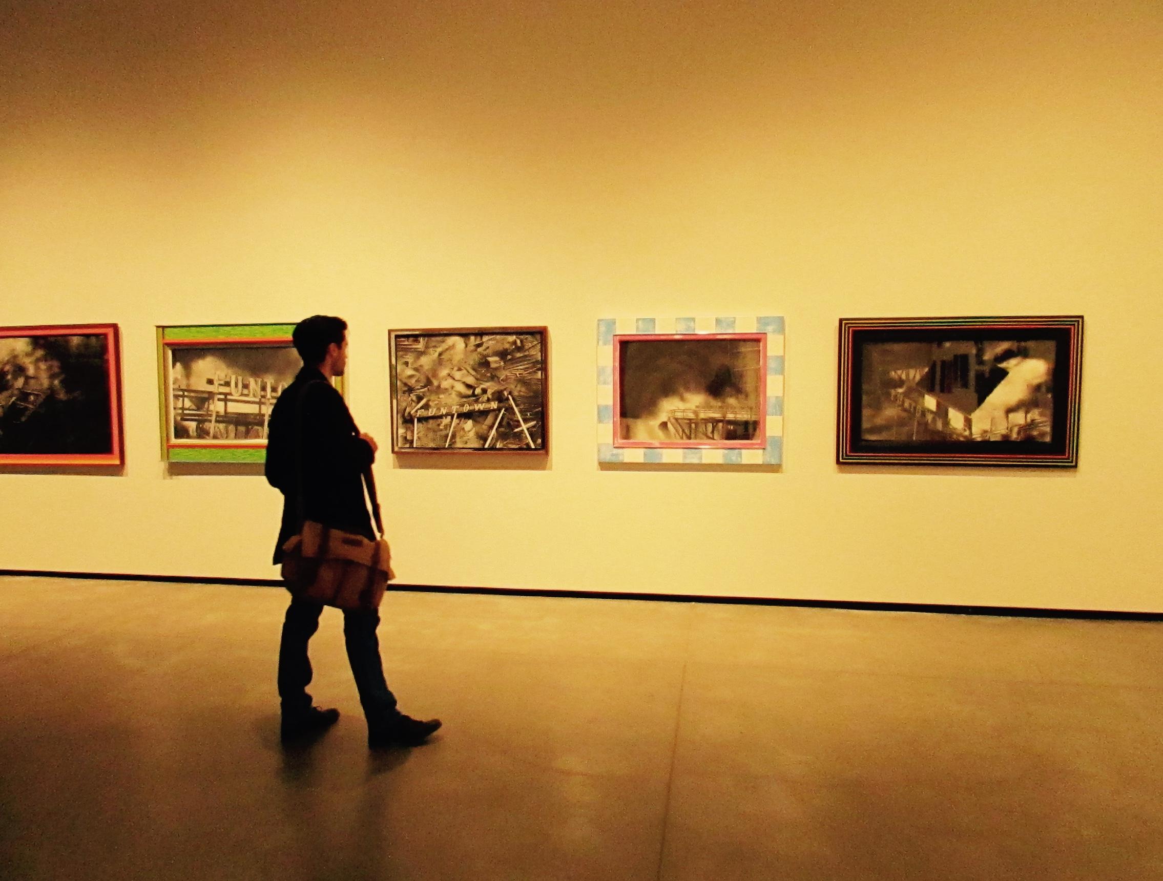 A contemporary exhibit at the Art Gallery of Alberta in Edmonton, Canada