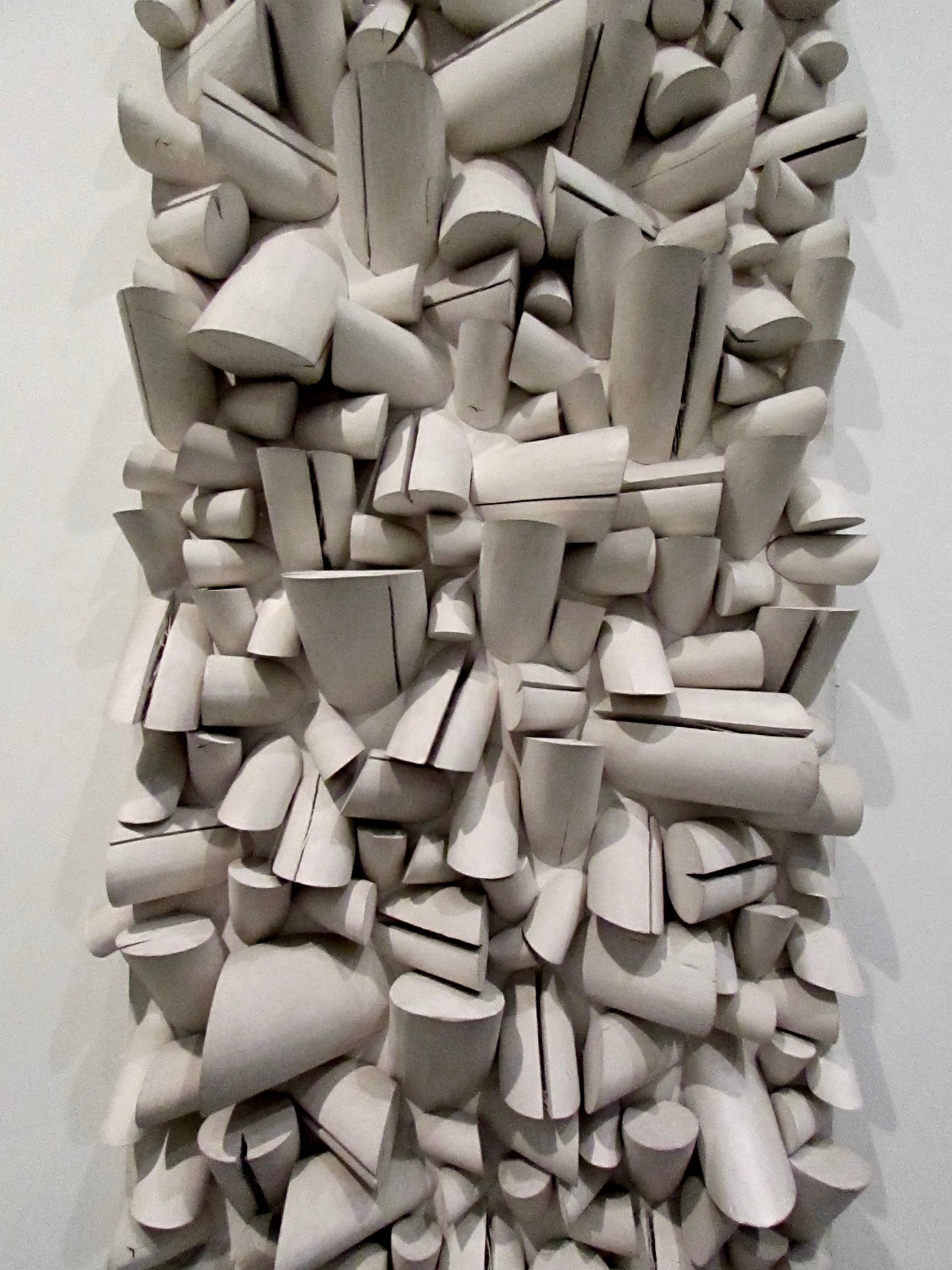 Large Split Relief No. 34/4/74  by Brazilian artist Sergio Camargo, 1964-5
