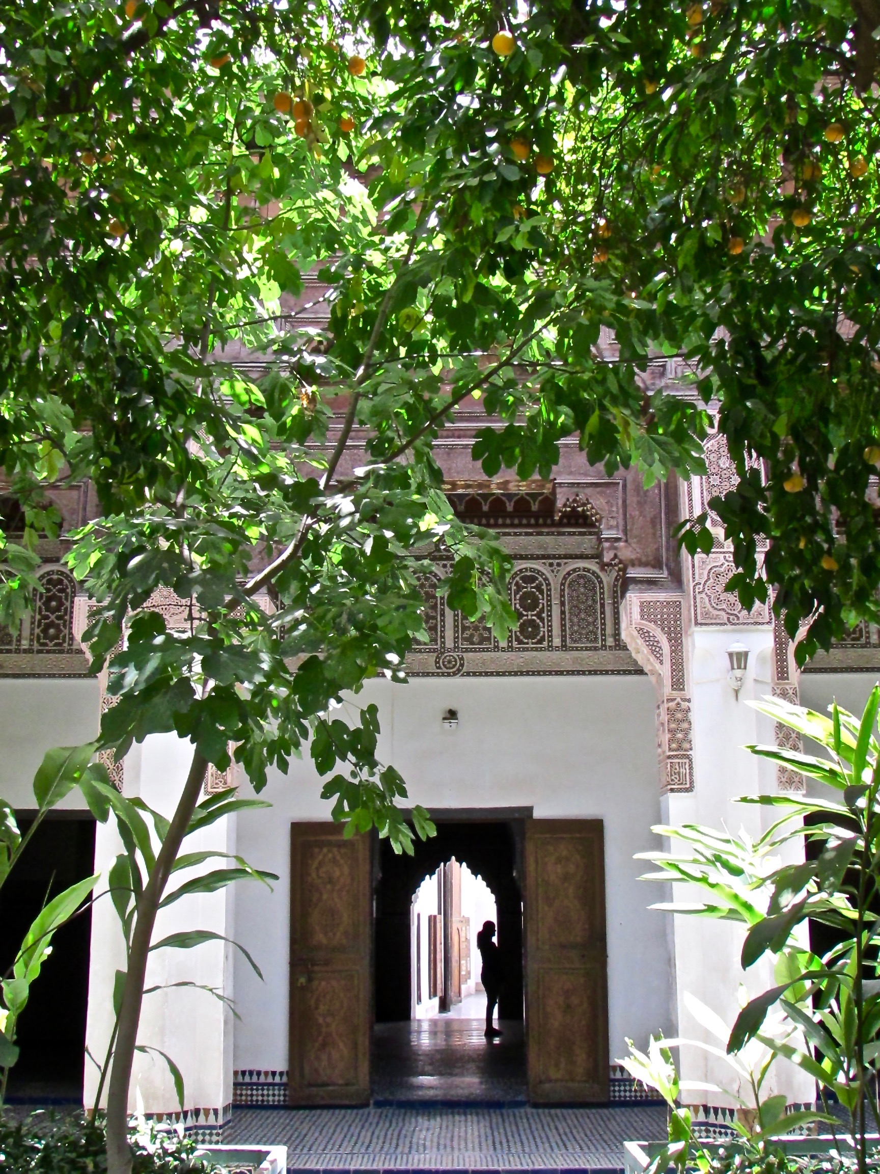 Bahia Palace in Marrakesh Morocco