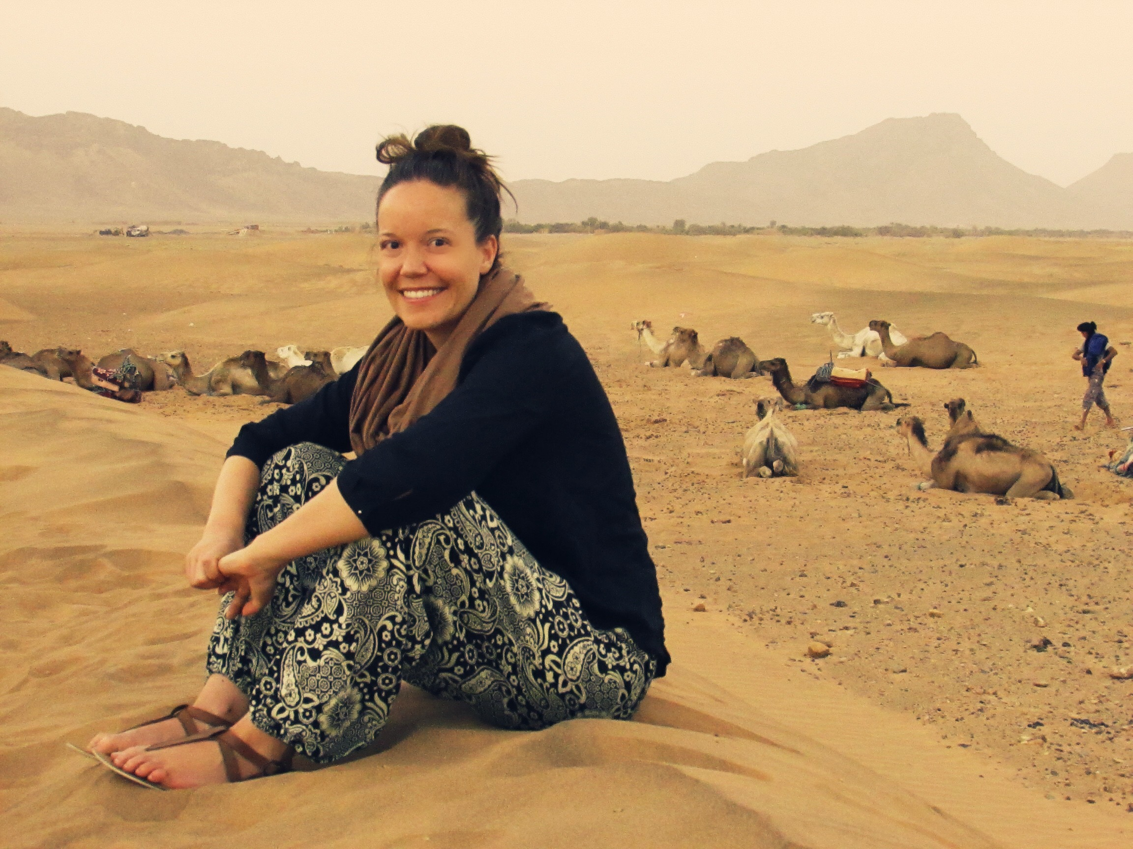 You'll easily meet travel buddies when sharing a tent while on a Sahara Desert tour in Morocco!
