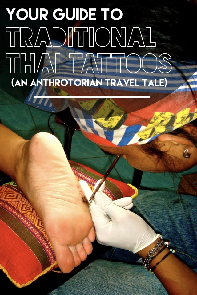 Traditional Thai Tattoo Technique