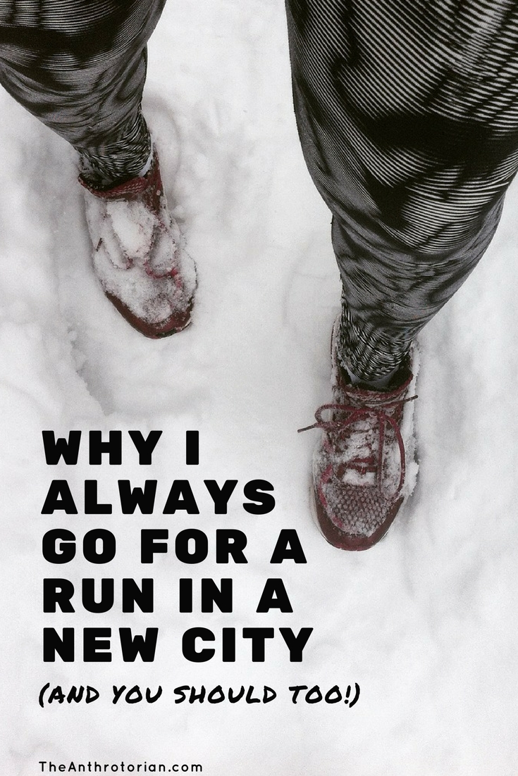 Travel tip go for a run in a new city