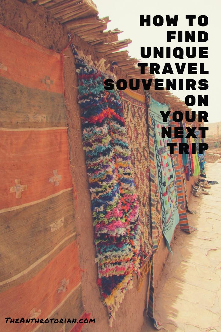How to find unique travel souvenirs
