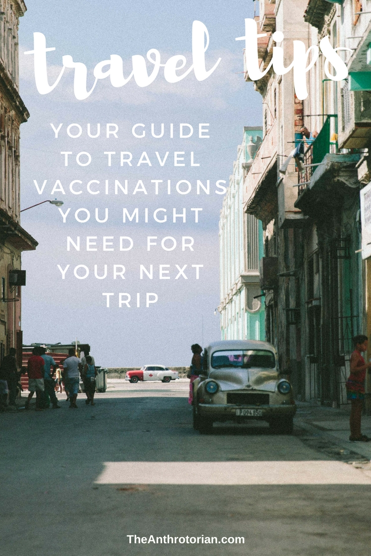 Your guide to travel vaccinations